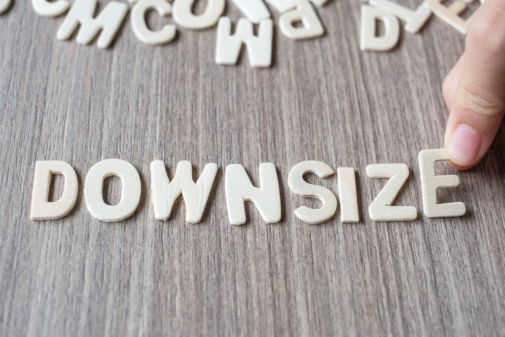 Top tips for downsizing